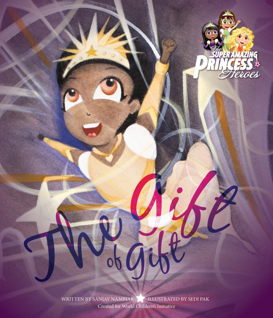 Super Amazing Princess Heroes The Gift of Gift